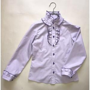 Блуза Лара цвет сиреневый