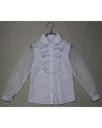 Блуза Ева цвет белый