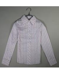 Блуза Регина розовая полоска