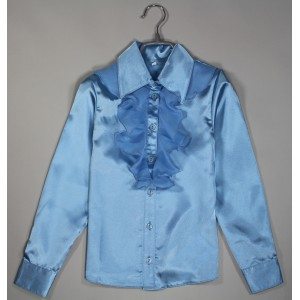 Блуза Варвара цвет голубой