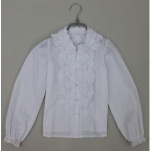 Блуза Виктория цвет белый
