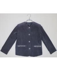 Пиджак Шанель серый 13