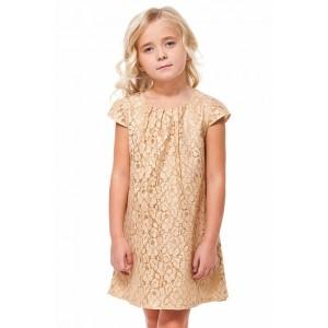 Платье F22.129 золотистый