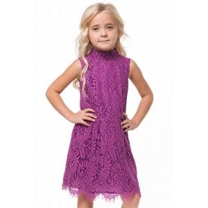 Платье F22.134 темно розовый