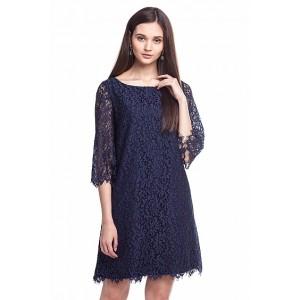 Платье F22.303 синий