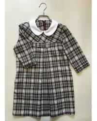 Платье Валентина клетка 17