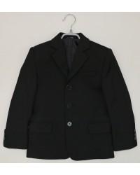 Пиджак для мальчика 01 черный