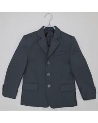 Пиджак для мальчика 01 серый