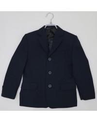 Пиджак для мальчика 01 синий