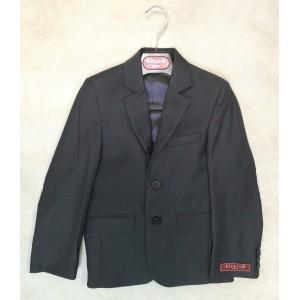 Пиджак для мальчика 02 серый