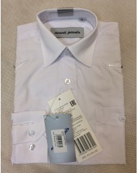 Сорочка для мальчика avanti цвет белый