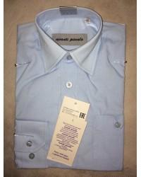Сорочка для мальчика avanti цвет голубой