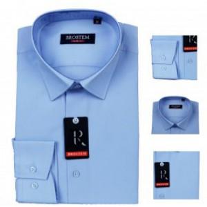 Сорочка для мальчика brostem цвет голубой